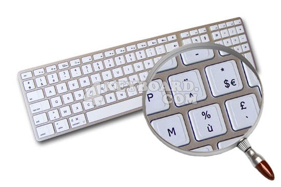 Mac French AZERTY stickers