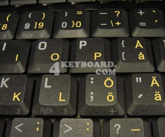 how to get swedish letters on keyboard