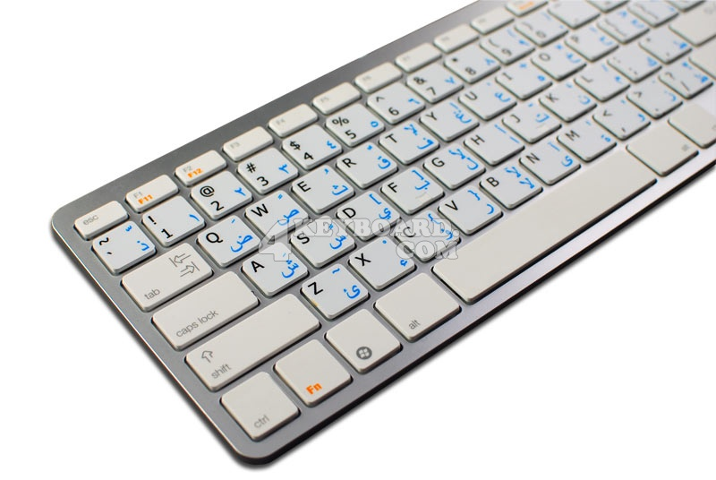 Arabic - English non-transparent keyboard stickers 15x15