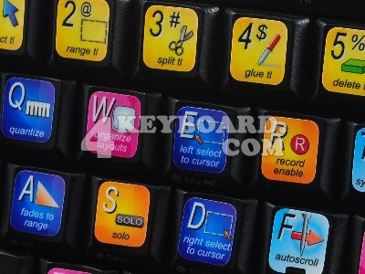 Steinberg Cubase keyboard stickers