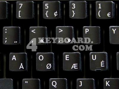 Programmer Dvorak keyboard stickers