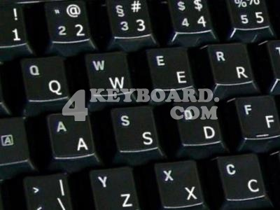 English US keyboard stickers