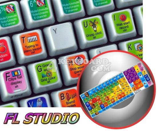fl studio keyboard