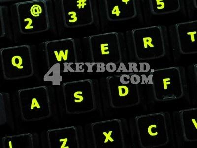 Glow in the dark stickers for laptop keyboard keys? - AnandTech Forums