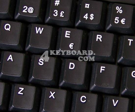 Swedish / Finnish keyboard sticker